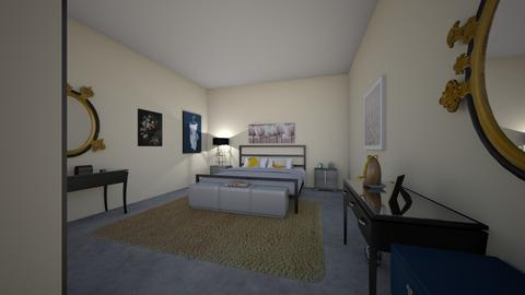 Contemporary Eclectic - Eclectic - Bedroom - by Eisley