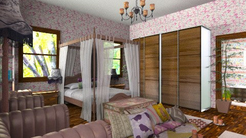 MarocStyle - Retro - Bedroom - by Luisy