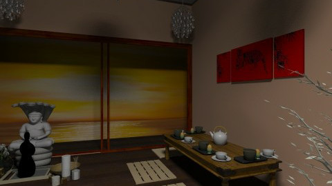 Japanese Room  - by Crystal484