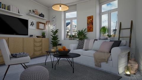 Bamboo living - Living room - by Tuija
