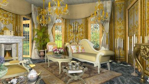 Le Boudoir de Charlotte - Classic - Living room - by Bibiche