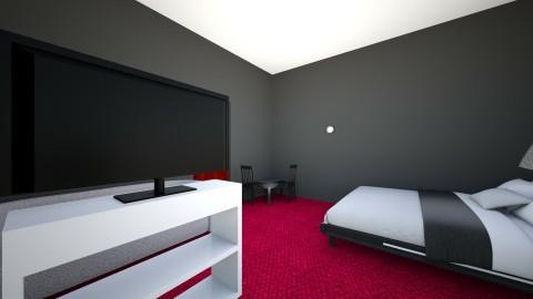 room for paula - Bedroom - by ola_fasola