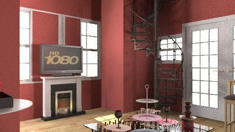 Welcome to the neighborhood party - Modern - Living room - by prettygurlmya
