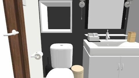 salle de bain/ plan 11 - Retro - Bathroom - by Yellow1806