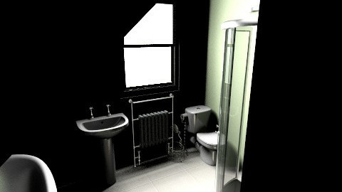 Bathdoor2 - Vintage - Bathroom - by SuseM