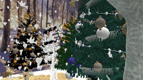 Amazing Christmas - Country - Garden - by Wong Timothy