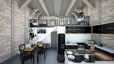 Rustic Modern Penthouse - Rustic - by deleted_1486240105_VermontianRain