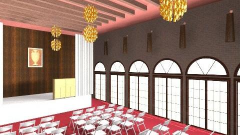 Prayer Hall - Classic - by sricha