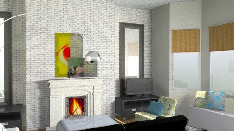 LivingRoom3 - Living room - by ezamko