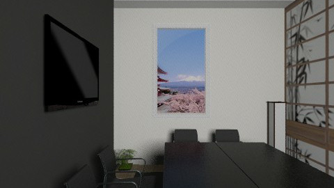 Asia room office view2 5 - Classic - Office - by Irena_S