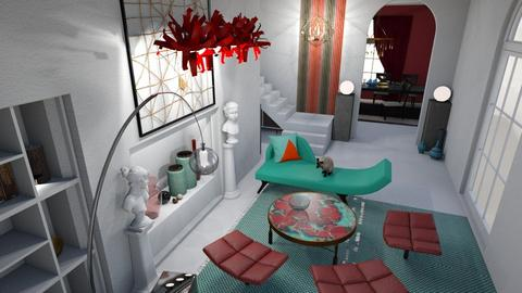 Modern Room IV  - Eclectic - Living room - by Daria Marienko