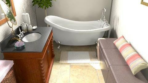 bathroom - Rustic - Bathroom - by andipal