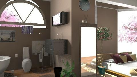 room-bath - Rustic - Bedroom - by annabeth