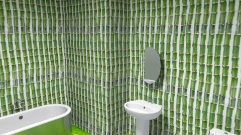 rainforest style bathroom - Country - Bathroom - by EmmaBradley12