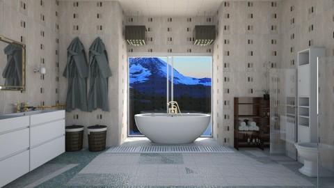 bathroom relaxing view - by eleonoraxruc