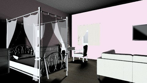 Perfect For a Princess  - Bedroom - by JA Design