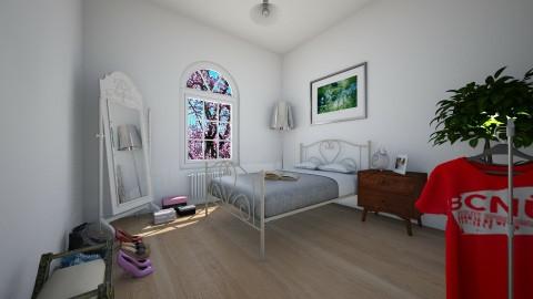 bedroom - Bedroom - by MietazHerbata