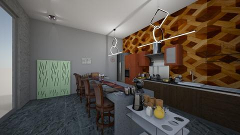 bar - Kitchen - by Lolo Loves Interior Design