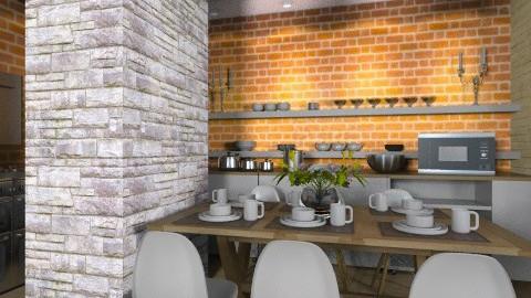 Kitchene wall - Kitchen - by camidome
