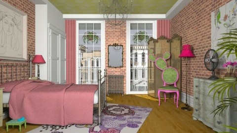 Artsy Fartsy - Eclectic - Bedroom - by Theadora