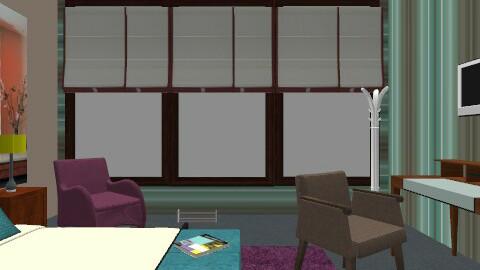 Hotel Chic - Retro - Bedroom - by Shazz40