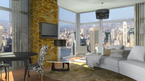 luxe - Glamour - Living room - by sahfs