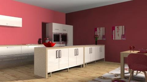 red!! - Minimal - Kitchen - by kayt20072007