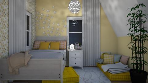 Bedroom - Classic - Bedroom - by Konstancja Rodak