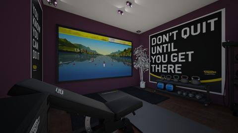 Gym  - Modern - by rhyspodvoiskis101
