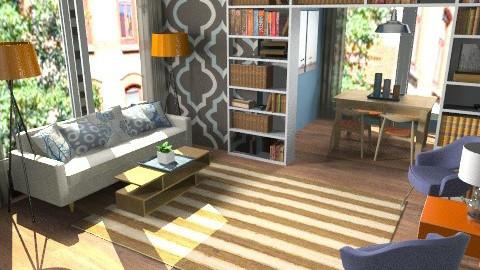 Callum - Modern - Living room - by allysonrose