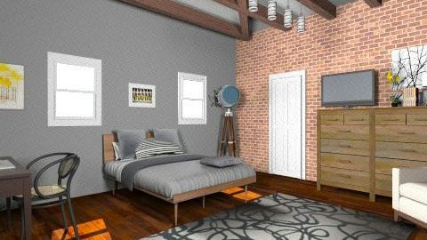 bedroom - Rustic - Bedroom - by Yoshi Yogataga