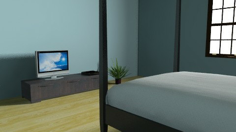 minimalist BR - Modern - Bedroom - by Taffy DeJarnette