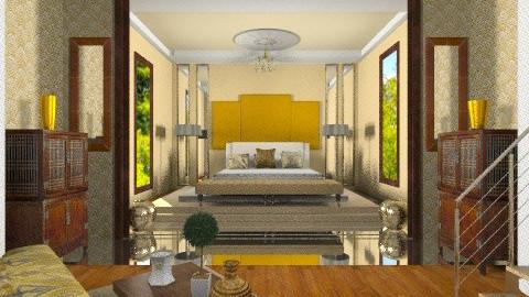 Celebrity Master bedroom - Eclectic - by wiljun