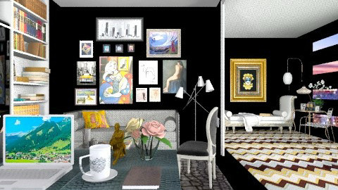 With Personality  - Eclectic - Office - by AlSudairy S