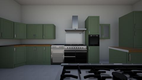 kk - Kitchen - by flaviaaless