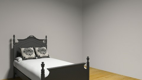 Black French - Vintage - Bedroom - by anabanana54