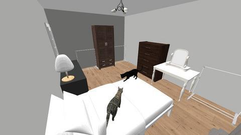 OBECNA SYPIALNIA 2 - Living room - by kassqqaa