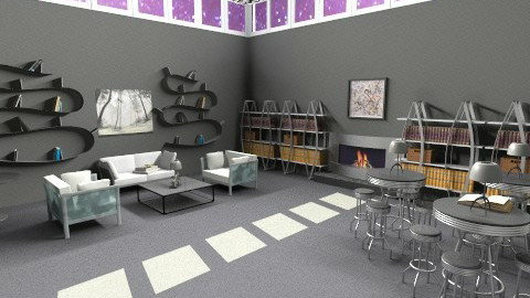 Black and White Books - Modern - Office - by HGranger2