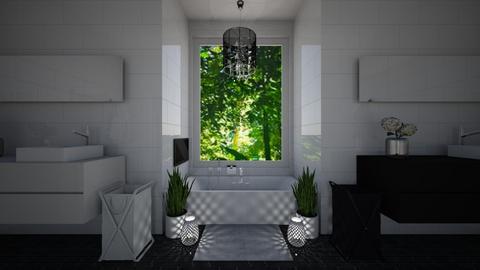Master Bathroom - Modern - Bathroom - by lilybluez
