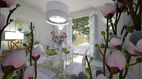 flores - Dining room - by ana111