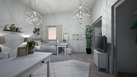 Dorm  - Bedroom - by KATIEJS