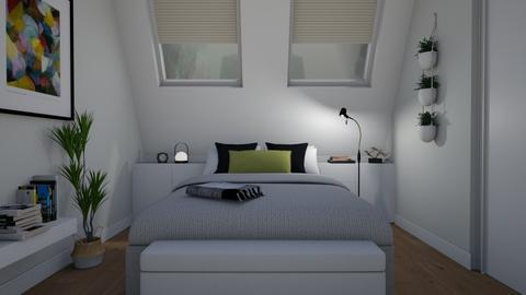 Small bedroom - Bedroom - by Tuija