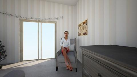 room pt4 - Feminine - Bedroom - by Maddie Freeman