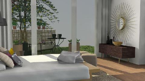 BedroomRetro - Retro - Bedroom - by martabd