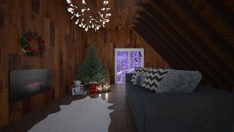 Happy christmas - Living room - by Kc Bee