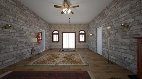 Loft Arpartment - Living room - by WestVirginiaRebel