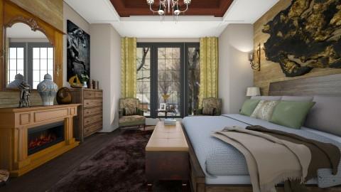 Rustic - Bedroom - by Roberta Coelho
