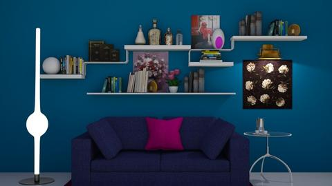 Feature wall  - Living room - by augustmoon
