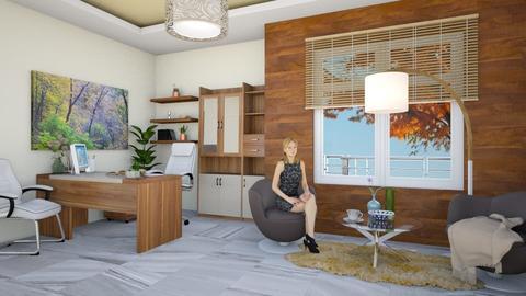 Oak Studio - Office - by arkitekturaUAE