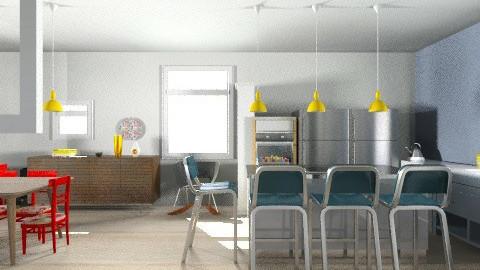 GF7 New Layout5 - Retro - Kitchen - by zoeyacoub